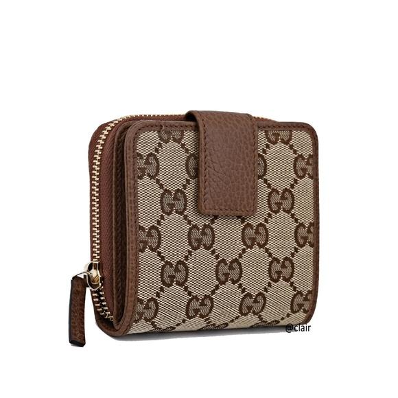 5faca4aa4894 Gucci Bags | 346056 Gg Original French Zip Around Wallet | Poshmark